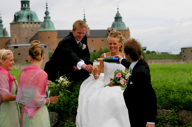 Wedding at Kalmar Slott, Sweden      Tagen av Anton Jarnheimer